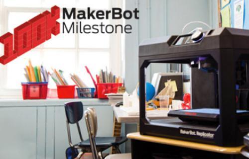 Makerbot passe le cap des 100.000 imprimantes 3D vendues