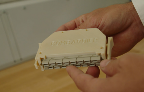 Bombardier Transport accélère la fabrication avec l'impression 3D de Stratasys