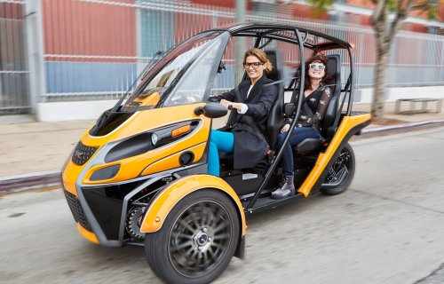 Arcimoto fait un pas de plus vers le futur avec son Fun Utility Vehicle (FUV) électrique