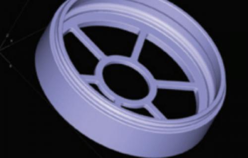 Un filtre pour voiture de course fabriqué directement avec une imprimante 3D