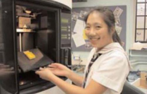 L'imprimante 3D Dimension choisie par cette école en Ontario