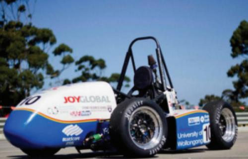 L'impression 3D aide des étudiants à construire une voiture de course