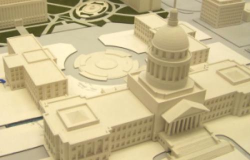 Une imprimante 3D Dimension pour modéliser la Maison Blanche