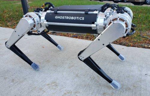 Ghost Robotics : la série Spirit fait appel au Stratasys Origin One
