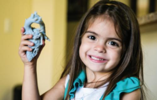 L'imprimante 3D aide un chirurgien à sauver des coeurs d'enfants