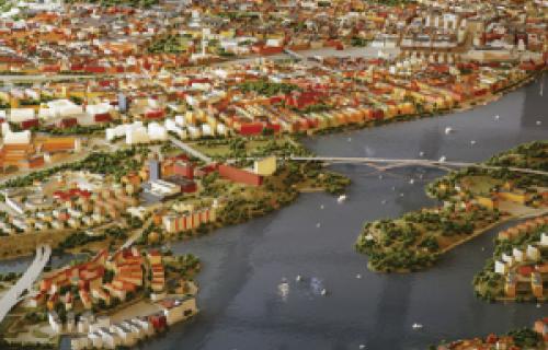 La ville de Stockholm modélise sa maquette avec une imprimante 3D