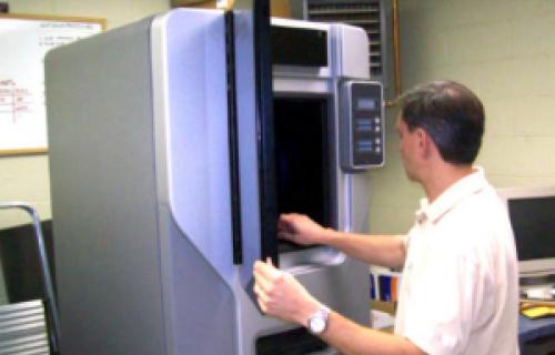 Cette agence imprime des modèles, des prototypes et des pièces fonctionnelles
