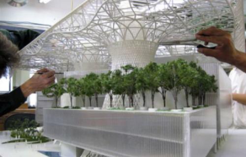 Construire un gratte-ciel avec l'impression 3D