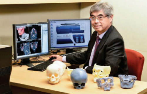 Les crânes des patients sont imprimés en 3D en quelques heures