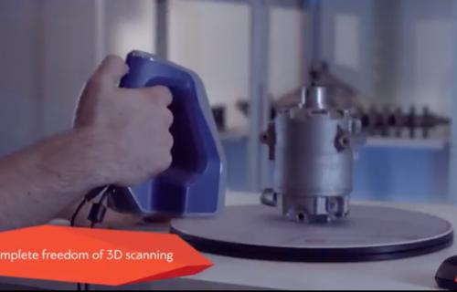 Vidéo - Scanner 3D Artec Space Spider