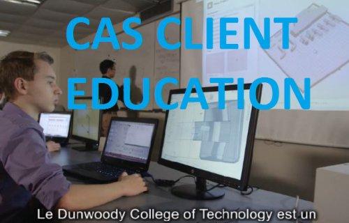 F123 : Cas Client Education
