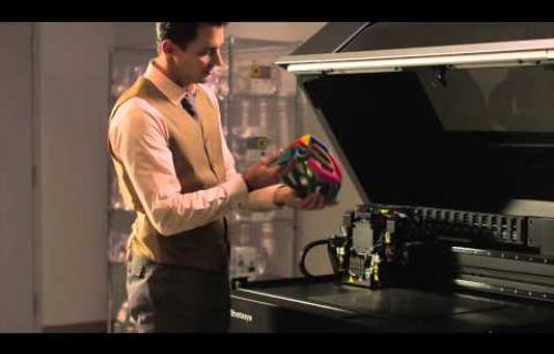 Présentation vidéo de la technologie d'impression 3D POLYJET