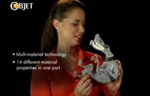 Vidéo imprimante 3D Objet260 Connex