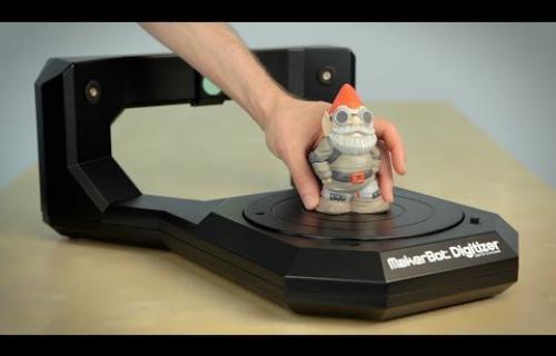 MakerBot Digitizer en vidéo