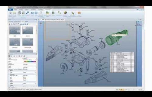Vidéo de présentation SolidWorks Composer