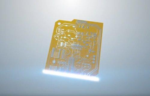 Vidéo DragonFly 2020 Pro : Impression 3D de circuits imprimés PCB
