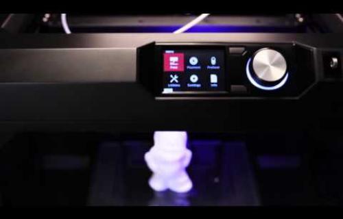 MakerBot Replicator en vidéo