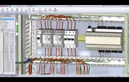 Vidéo d'introduction à SolidWorks Electrical 3D