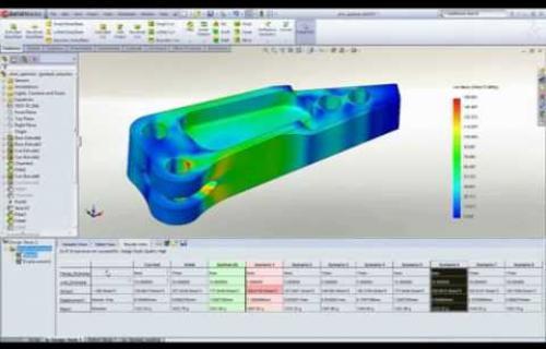 Vidéo du logiciel SolidWorks Simulation