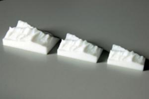 L'imprimante 3D recrée des montagnes en Suisse