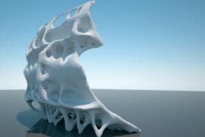 Une imprimante 3D pour la recherche sur l'architecture