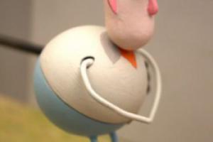 Ce studio imprime des figurines miniatures pour une vidéo en stop-motion
