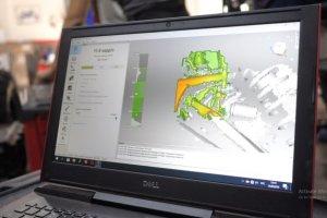Effectuer la retro-ingénierie de pièces de voitures de course ultra-robustes et performantes avec Artec Eva