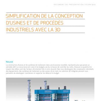 Concevez votre usine et vos process industriels en 3D