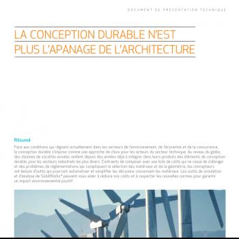 Ingénieurs en CAO : adoptez la conception durable
