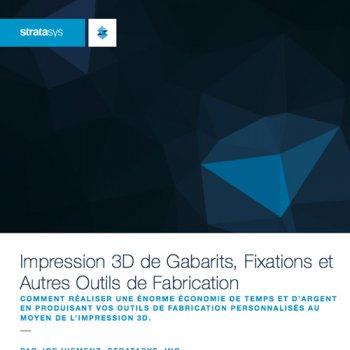 Produire ses outils de fabrications avec une imprimante 3D