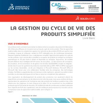 PLM : simplifiez la gestion du cycle de vie de vos produits